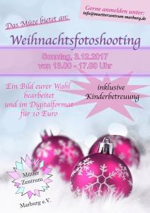 Flyer_Weihnachtsfotoshooting